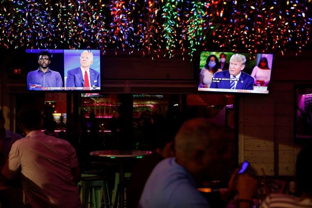 Biden, Trump, TV ratings