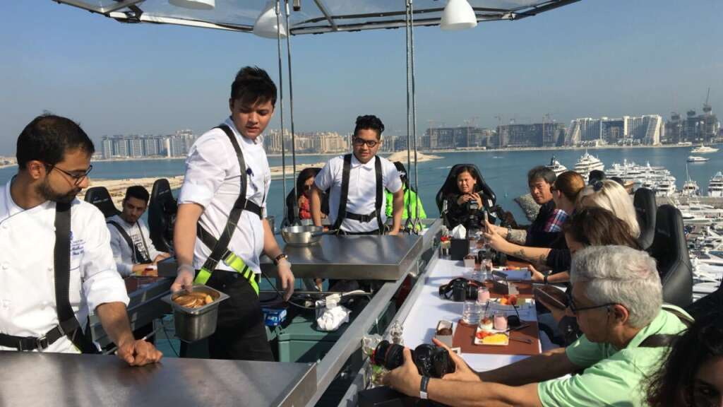 First look: Dinner in the sky comes to Dubai