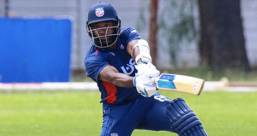 Jones knock of 95 guides US to three-wicket win over the UAE