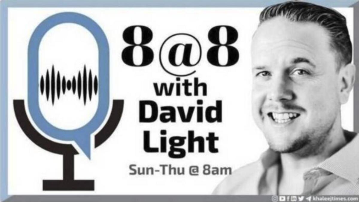 8 at 8 with David Light: Sunday, October 10