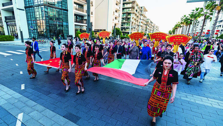 dubai, chinese new year, celebrations, china, china, chinese