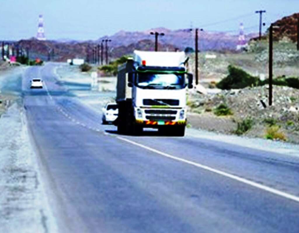 Repair work resumes on RAK road after five-month suspension
