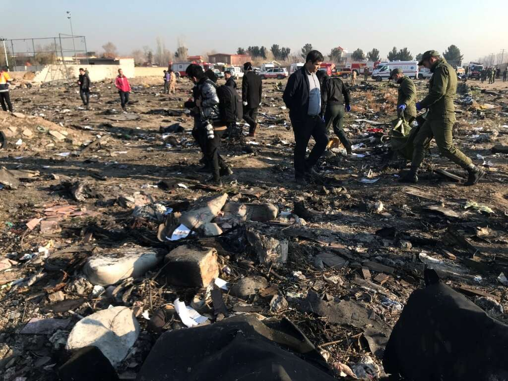 Ukraine demands punishment, compensation for plane downed by Iran