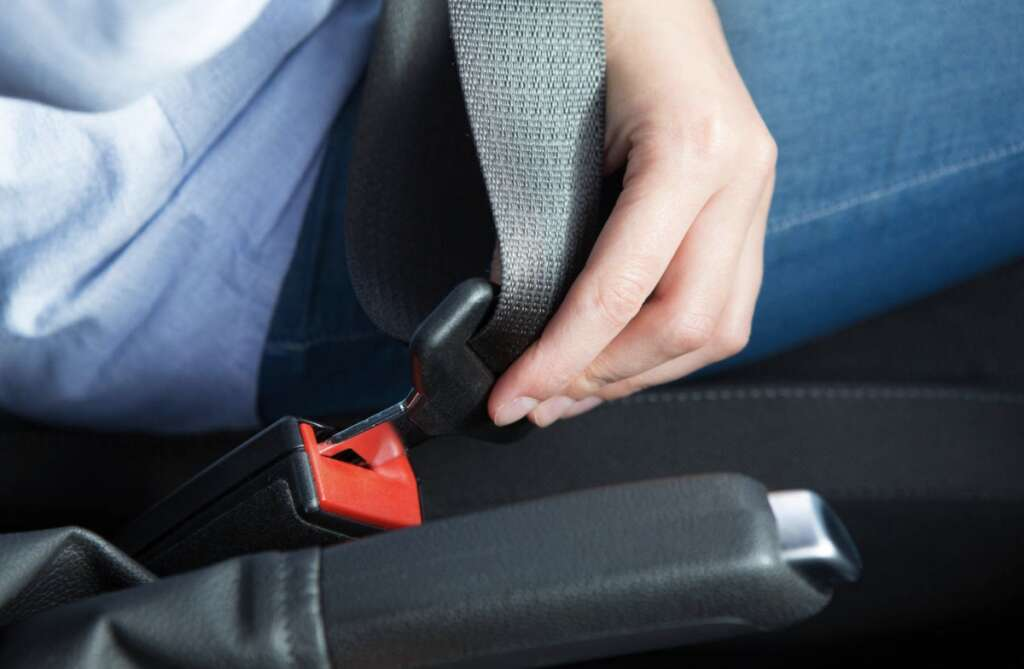 Over 22,000, drivers, fined, buckling up, Abu Dhabi, 6 months