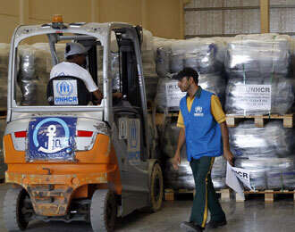 Iraq aid operation from Dubai begins