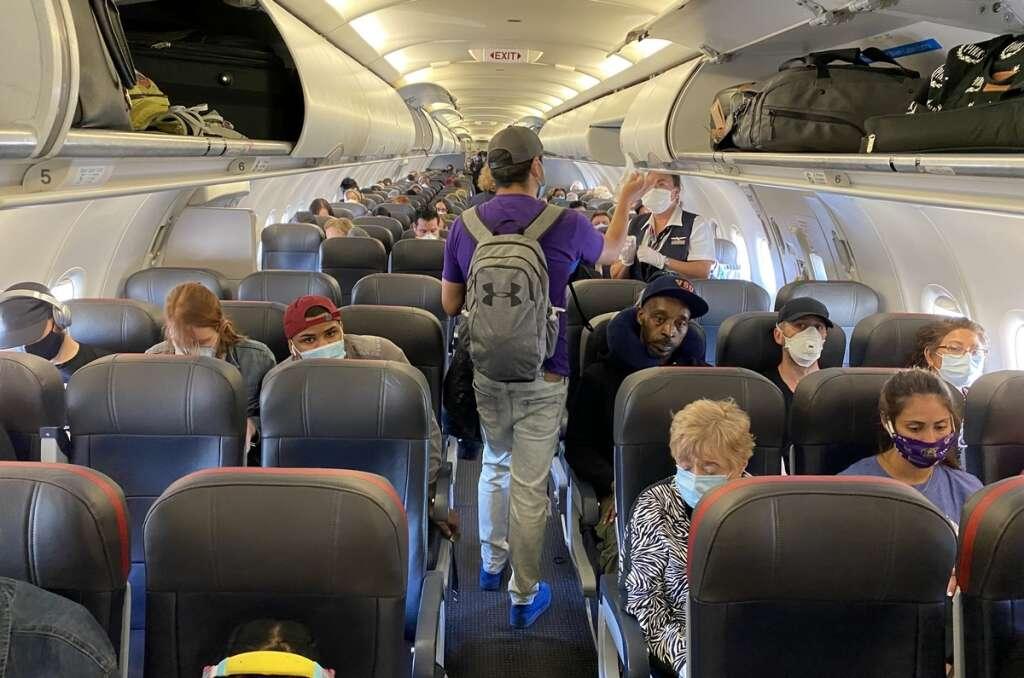 american airlines, spraying, airplane, interiors, spray, coronavirus, covid-19,SurfaceWise2