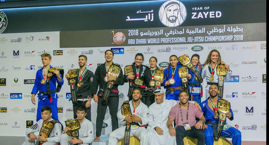 Abu Dhabi World Professional Jiu-Jitsu Championship concludes with