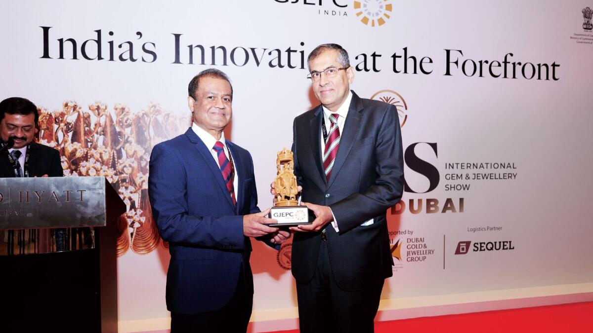 Pavan Kapoor, Ambassador of India to UAE, inaugurated the show. — Supplied photo