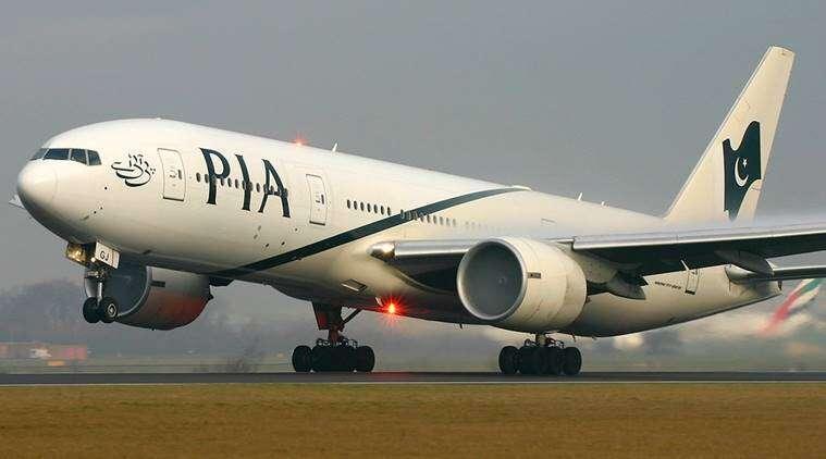 Pakistan International Airlines, PIA, heart attack, Sialkot, London