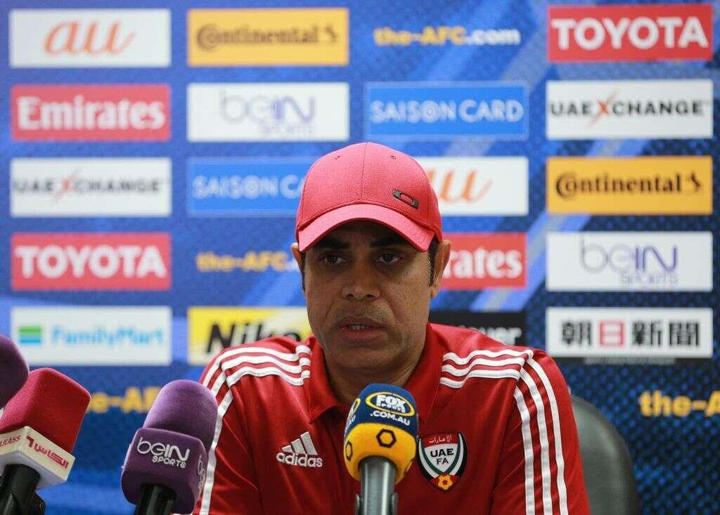Bring it on, UAE coach tells Australia