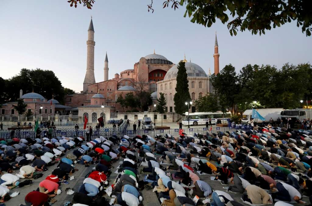 United States, disappointed, Turkey, decision, turn, Hagia Sophia, mosque