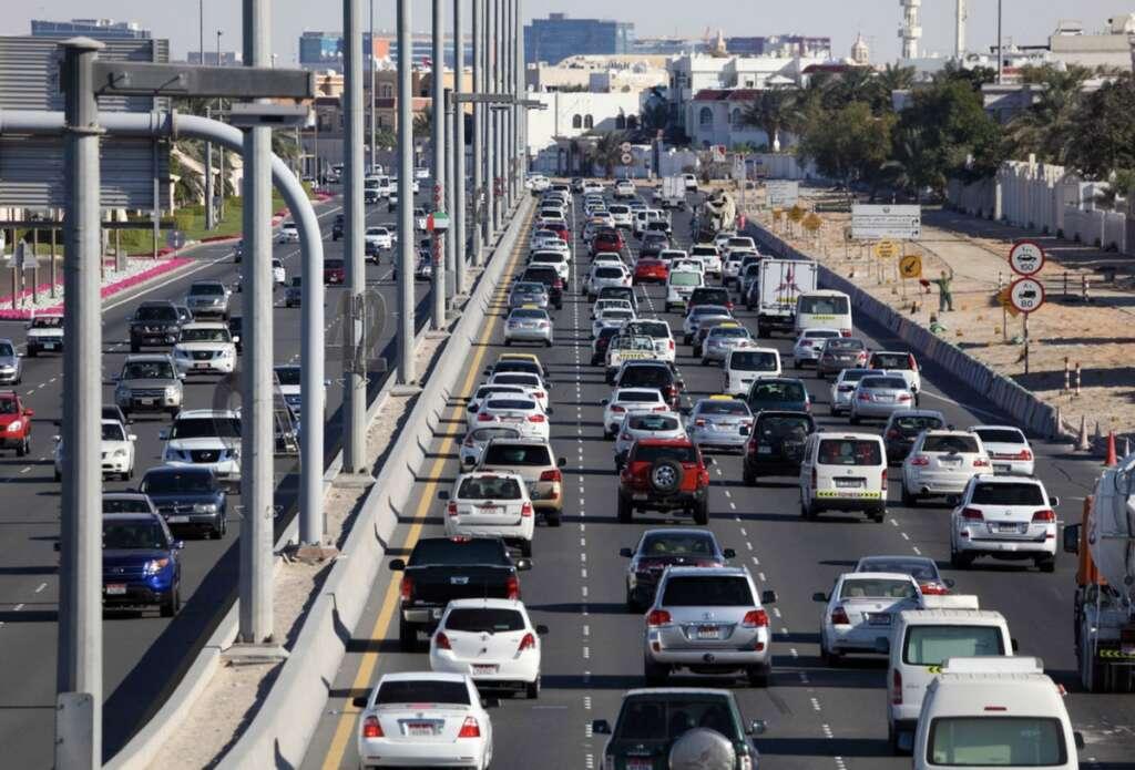 Sudden, swerving, cause, 317 crashes, Abu Dhabi