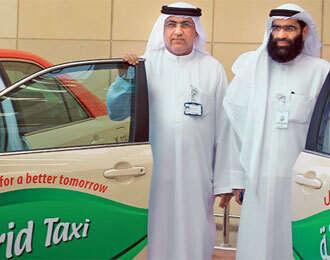 Dubai Taxi launches 20 eco-friendly hybrid cabs