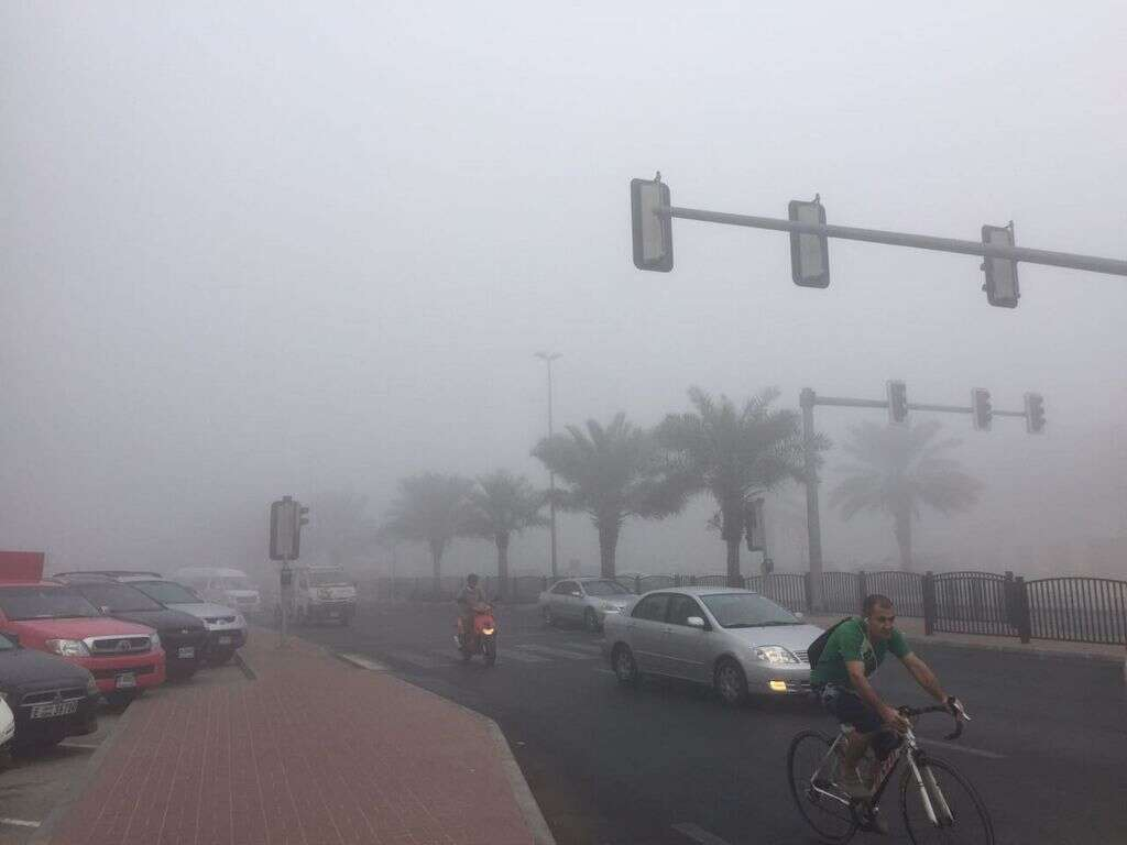 UAE weather: Fog warning today in the city