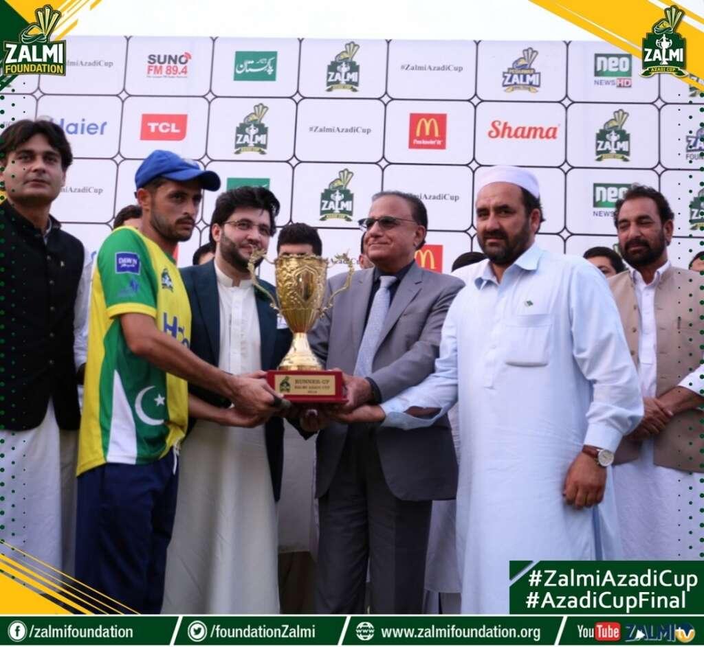 Nowshera Zalmi Greens win Zalmi Azadi Cup