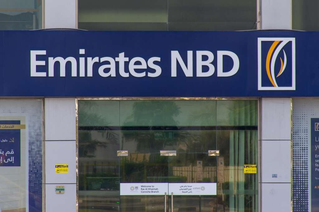 emirates nbd, bank of america, share acquisition