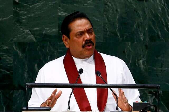 Rajapaksa urged not to mix pope and politics
