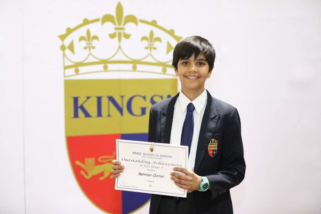 Cracking GCSE math is no problem for this 13-year-old