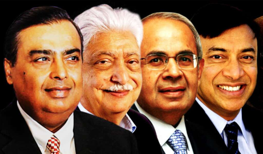 These are the 100 richest Indians in the world - Khaleej Times
