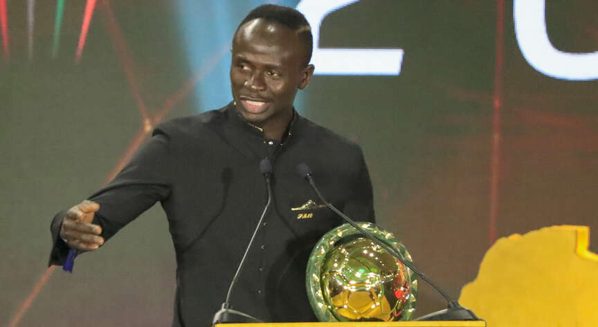 Football is my job, I love it, says Mane after winning African Footballer of the Year
