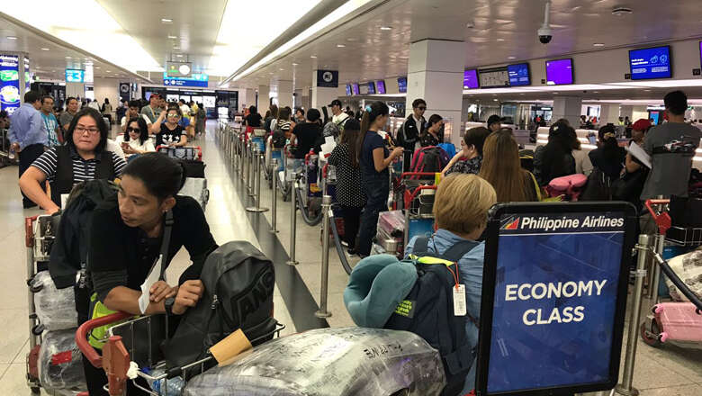Video: 101 overstaying Filipino expats fly home from Dubai