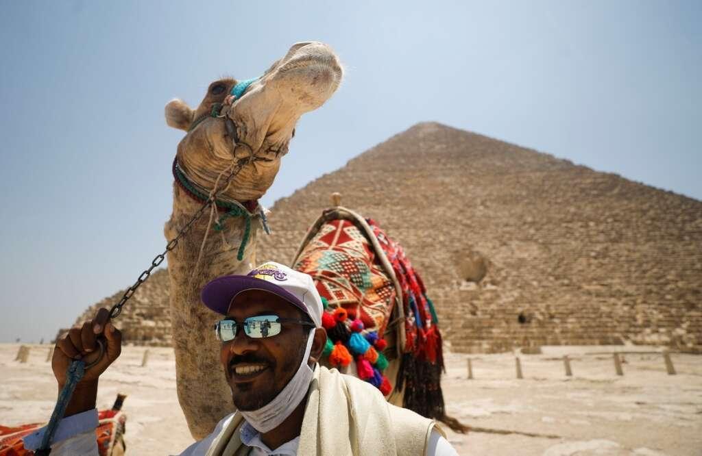 Egypt, restarted, international flights, welcomes, tourists, Great Pyramids, Giza, coronavirus, Covid-19