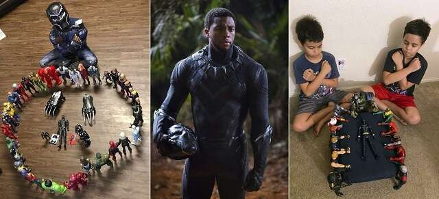 chadwick boseman, black panther, mourn, death, actor, hollywood