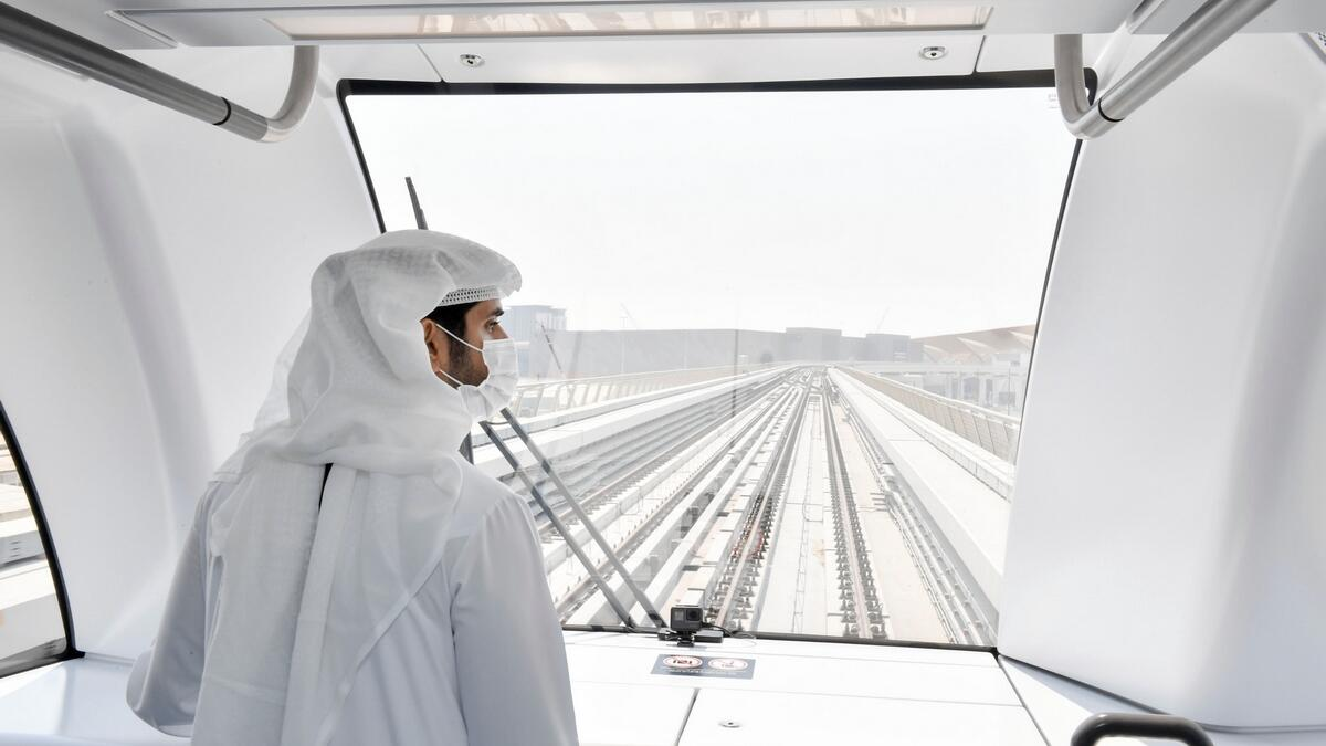 Dubai Metro represents one of the emirate's many success stories, said Sheikh Hamdan bin Mohammed bin Rashid Al Maktoum, Crown Prince of Dubai and Chairman of the Dubai Executive Council, during an inspection tour of Dubai Metro Route 2020.