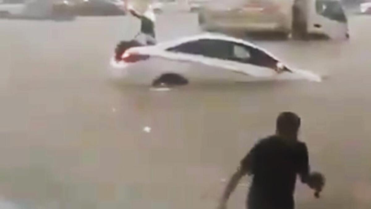 Video: Floods paralyse Saudi city of Jeddah, three killed