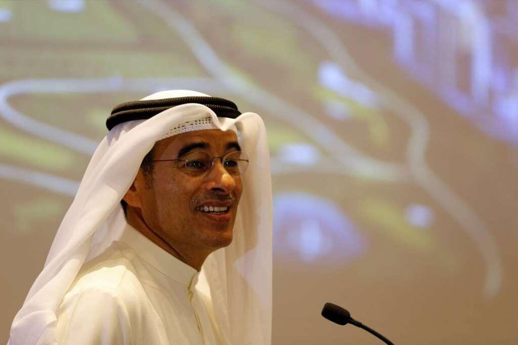 Mohamed Alabbar, Emaar, job title, designation, business card