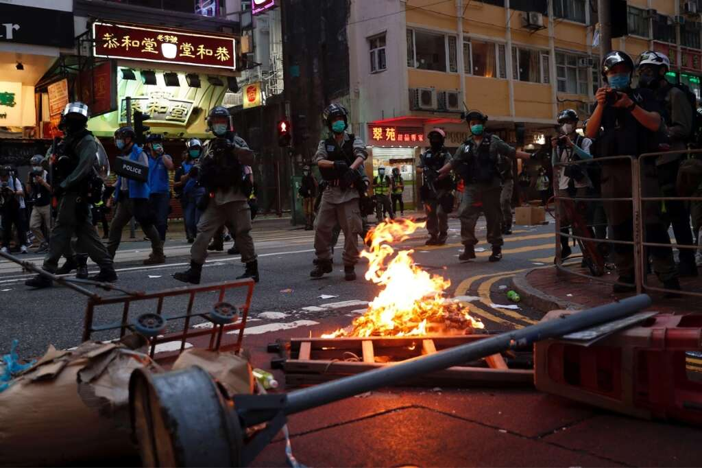 Hong Kong, police, arrests, protests, national security law, China, Beijing