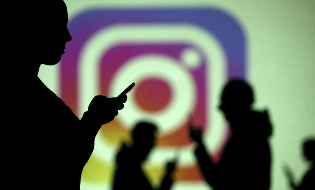 Instagram, mobile phone, Facebook, privacy