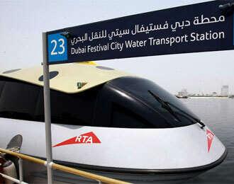 RTA debunks rumours on Dubais water taxis
