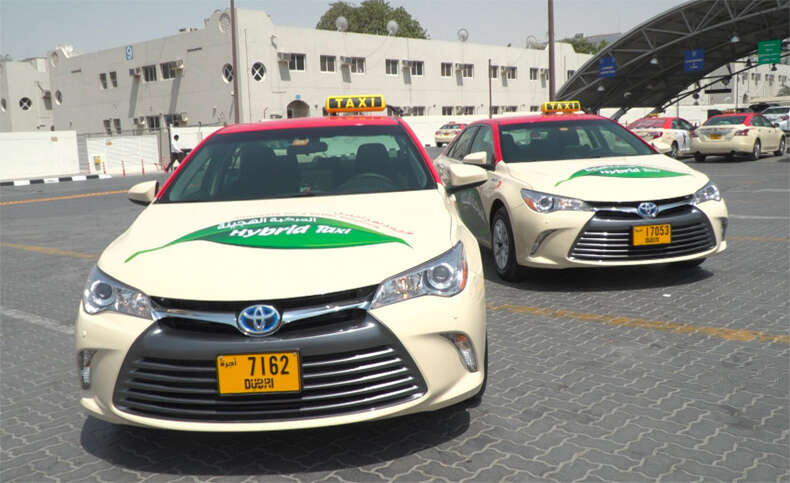 Video: 554 more hybrid taxis to ply on Dubai roads