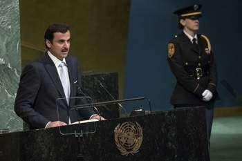 Amir of Qatar, His Highness Sheikh Tamim bin Hamad Al Thani