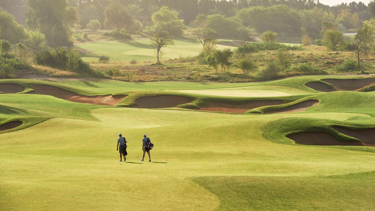 The tournament will be played on the Fire course at Jumeirah Golf Estates. (Supplied photo)