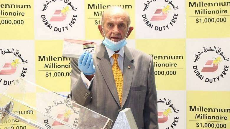 Ajman principal, wins, $1 million, same day, school, scored, 100% pass rate