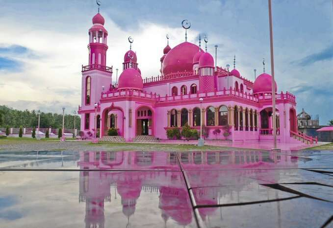 Masjid Dimaukom, mosque, philippines, painted, pink, pink mosque, masjid, special reason, humanity, tolerance,