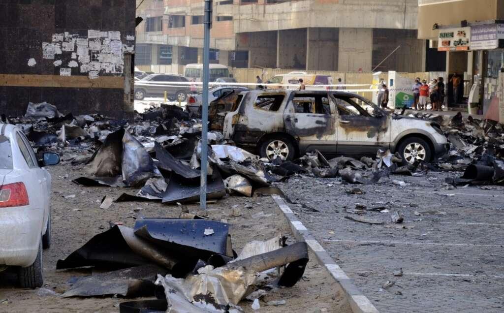 Residents, Sharjah fire, Al Nahda, Abbco Tower