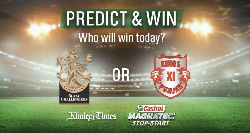 Royal Challengers Bangalore, Kings XI Punjab, IPL match