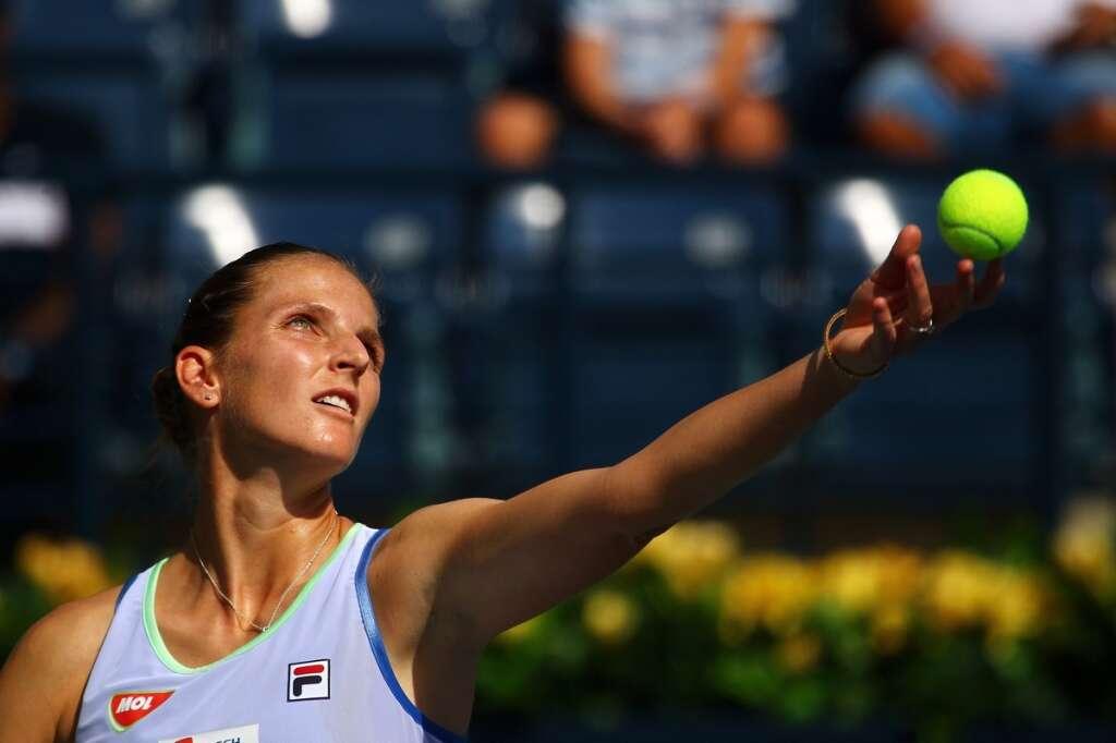 Karolina Pliskova, Garbine Muguruza, Pliskova, Muguruza, WTA Dubai Duty Free Tennis Championship,