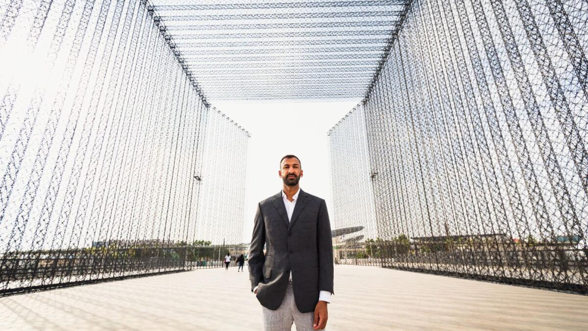 Expo 2020 Dubai: Meet Asif Khan, the brain behind the gigantic gates