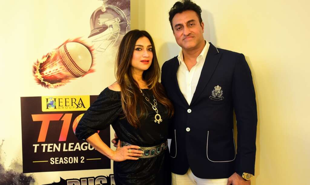Bollywoods famous Morani family bats for T10 Cricket League
