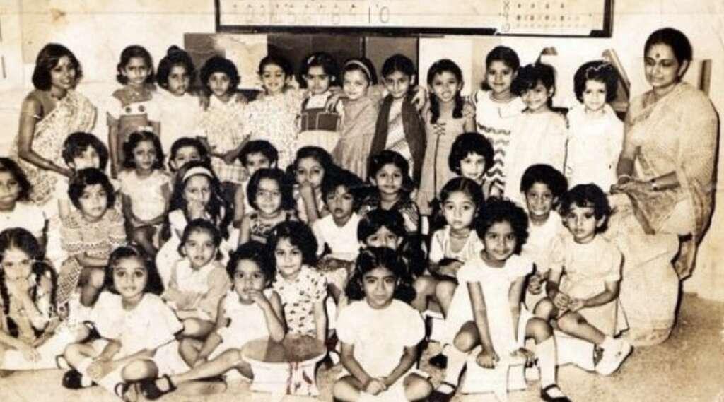 Photos: Aishwarya Rai shares pictures of her school days