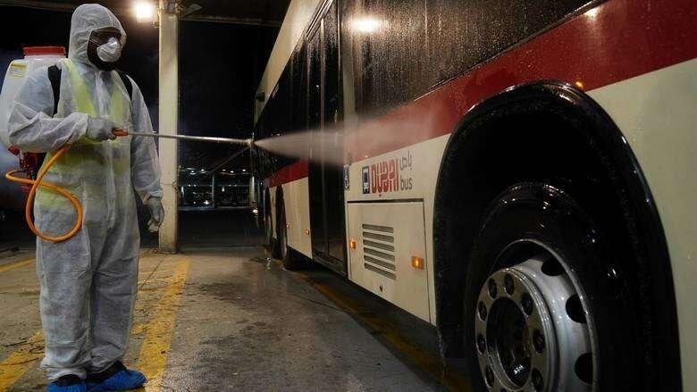 Covid-19, UAE, Dubai, announces, 24-hour sterilisation program,  Dubai Metro, tram, operations, suspended, malls, entertainment places, Abu Dhabi, closed