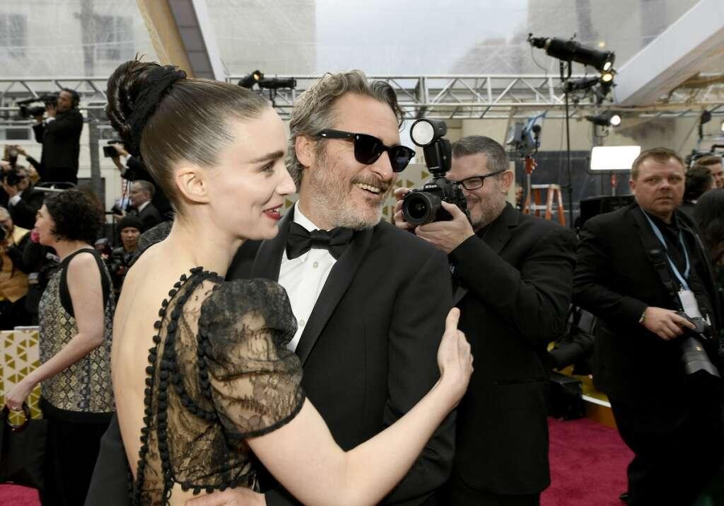 Joaquin Phoenix, Rooney Mara, parents, River Phoenix, baby, son, welcome, actor, Hollywood
