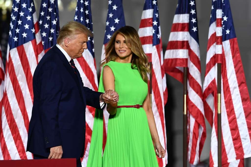 first lady, Trump, 'losers'