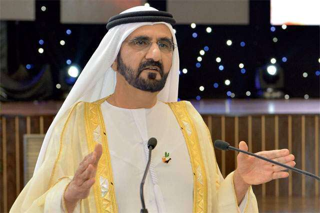 Shaikh Mohammed receives Eid well-wishers