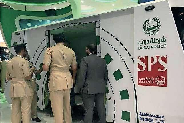 Dubai Police, Future, UAE, secure, Dubai Media Office, Hoversurf Scorpion-3 hoverbike