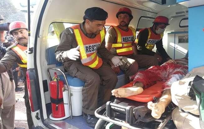 14 killed as burqa-clad terrorists storm Peshawar college